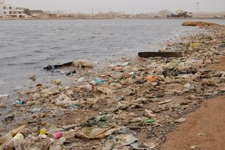 Trash port sudan